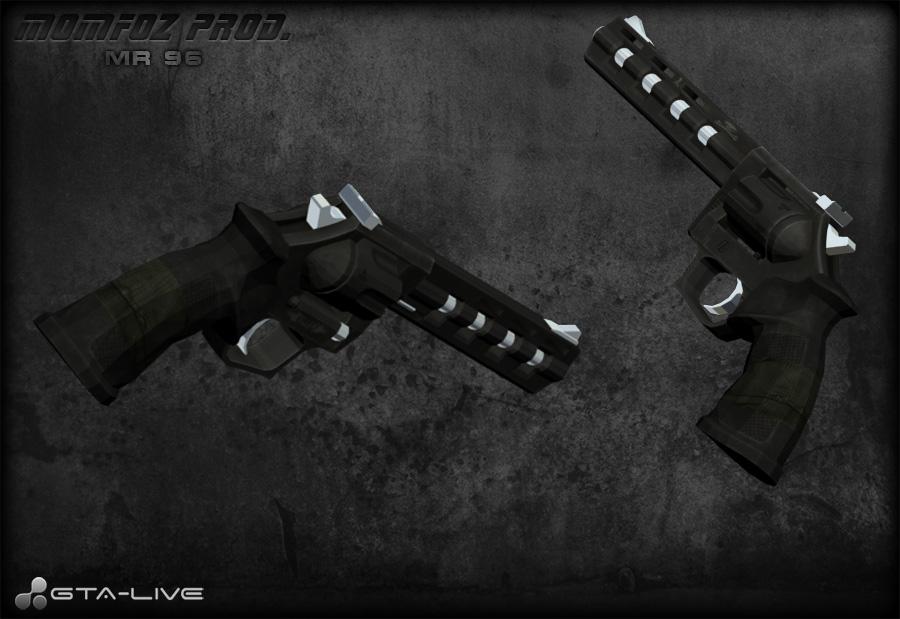 Пистолет mr 96 для gta san andreas